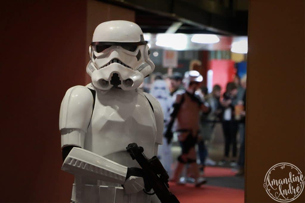 Un Stormtrooper au cinéma !